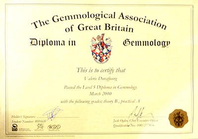 L'histoire de la gemmologie